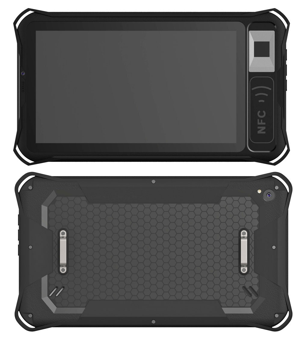 "Cheapest 7"" 7 inch android Front NFC Front fingerprint reader Rugged Tablets Rugged tablet pc computer HR721"